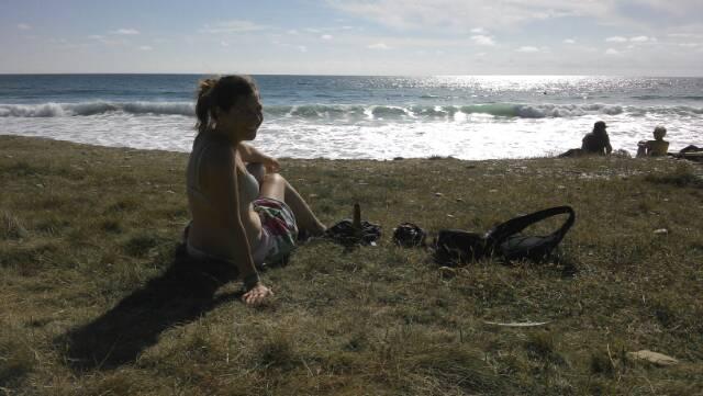 Strand erreicht